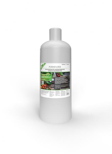 TerraDomi Puraflora Pflanzenhilfsmittel auf Basis von Bakterien I natürlicher Schutz von Gemüse