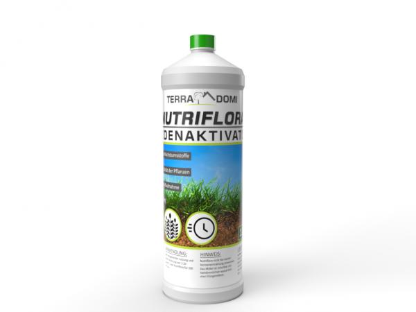 Nutriflora 1 Liter Bodenaktivator, Flüssigdünger für 20% mehr Wachstum und Ertrag