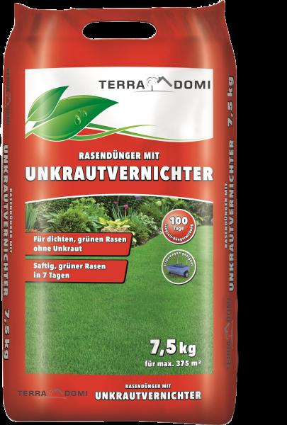 Unkrautvernichter + Rasendünger 7,5 Kg