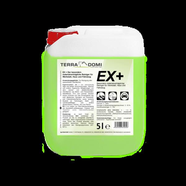 Terra Domi Ex+, 5 L Reinigungsmittel für Boden, Maschinen, Betrieb & Werkstatt, biologisch abbaubar