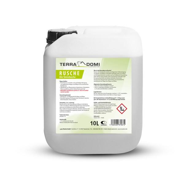 Terra Domi Rusche Steindusche, 10 L, Steinreiniger für bis zu 4000 m²