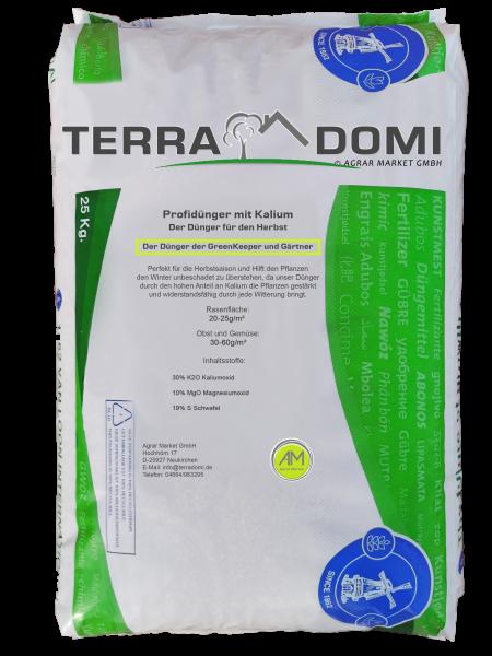 Terra Domi 25 kg Herbstdünger für über 1000m² Langzeit Rasendünger