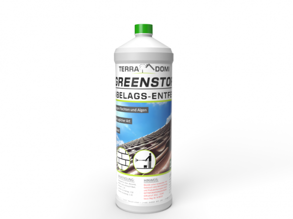 Greenstop 1 Liter Moos & Grünbelagsentferner